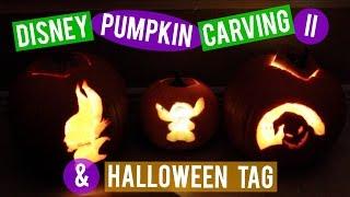 🎃Disney Pumpkin Carving II | 🎃Disney Halloween Tag | The [Minnie]malist
