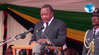 Mugabe was an African icon and great liberator - President Kenyatta