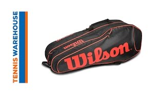 Wilson Burn Team 6 Pack Bag video
