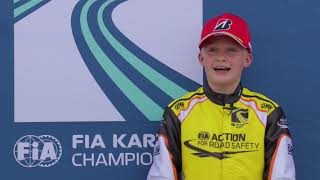 FIA KARTING WORLD CHAMPIONSHIP LONATO KZ/KZ2/ACADEMY HIGHLIGHTS