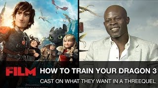 How to Train Your Dragon 3: Cast on what they want to see