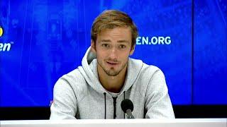 "Daniil Medvedev: ""I felt the way I won was quite ugly""| US Open 2019 Quarter-Finals Press Conference"