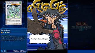 Unlocking Yusei - Stardust Animations [Duel Links]