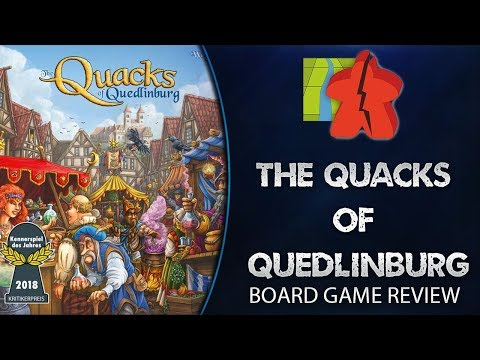 The Broken Meeple - The Quacks of Quedlinburg Review