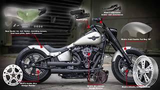 2018 Milwaukee Eight Softails, Custom Parts + Bikes