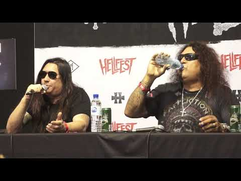 Download Testament press conference at Hellfest 2019 + Reactions to Dave Mustaine cancer Mp4 HD Video and MP3