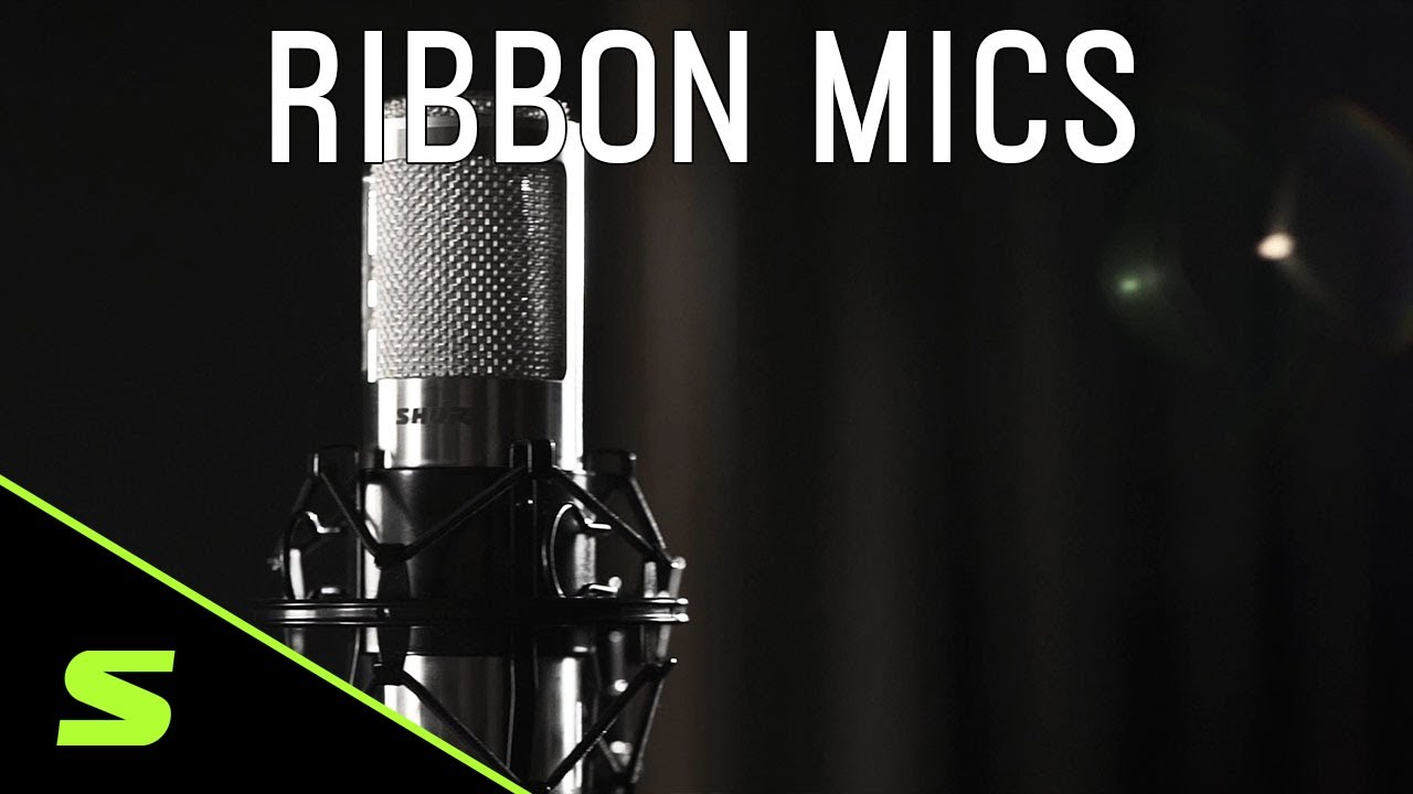 Shure Ribbon Microphones - Product Overview