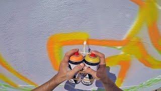 Graffiti - Rake43 - Dual Color Cap