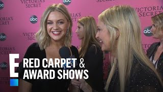 """Kelsea Ballerini Is """"A Kid On Christmas"""" At Victoria's Secret 