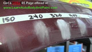 Most Common Autobody Sand Paper Grits  80 Grit 150 Grit 240 Grit 320 Grit 400 Grit 2000 Grit