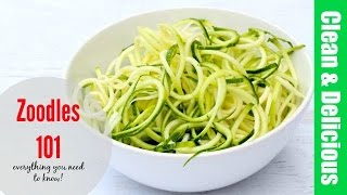 HOW TO COOK ZUCCHINI NOODLES | everything you need to know about zoodles