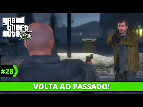 GTA V | Grand Theft Auto V Detonado #27 - Aguas Passadas! | Gameplay PC em Portugus