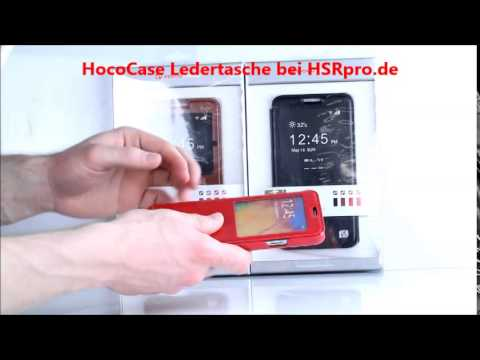 HSRpro.de - Die Zubehörprofis I Samsung Note 3 Ledertaschen Schutzhüllen aus Hamburg