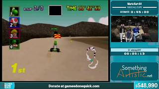 Mario Kart 64 by abney317 in 30:36 - Summer Games Done Quick 2015 - Part 116