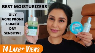 Best Moisturizers For Clear Skin & All Skin Types - Oily,Combo,Dry,Acne, Sensitive | Chetali Chadha