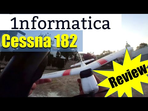 WLtoys F949  Cessna 182 3CH Micro RC Airplane RTF Review Flight
