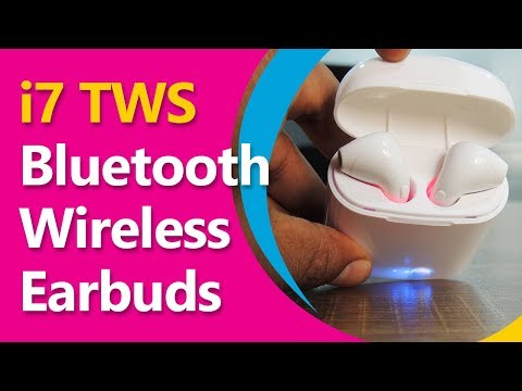 i7S TWS Bluetooth Earbuds Review | Much Cheaper than Apple Airpods | Pair with Android & iOS