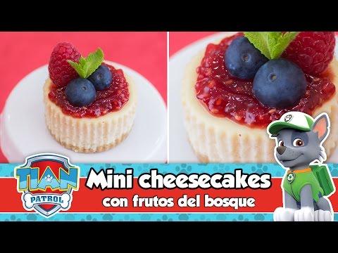 MINI CHEESECAKES con mermelada y frutos del bosque | Mesa dulce de Tián | PAW PATROL