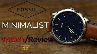 Fossil Minimalist FS5304 Review [4k]