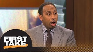 Stephen A. debates Max on whether Puma will have a big impact in the NBA | First Take | ESPN