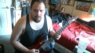 Absent Are The Saints - 36 Crazyfists Guitar Cover