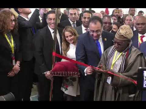 أهم ماجاء خلال فعاليات افتتاح المعرض الافريقى الأول للتجارة البينية