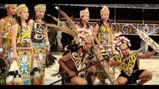 Sape Instrument Dayak Borneo Yang Paling Menyentuh Jerry Kamit   Sarawak Low
