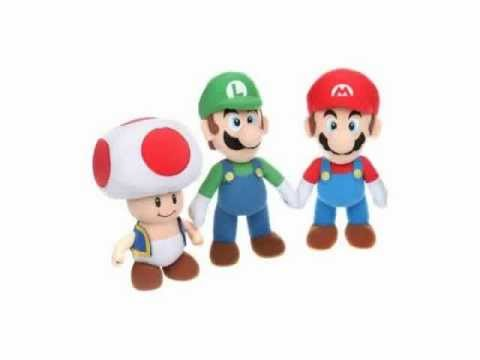 """Super Mario - Plüschfigur """"""""Mario"""""""" (ca. 24cm)"""