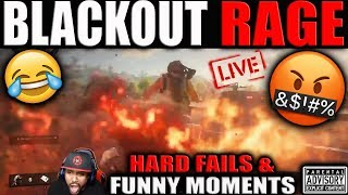 BO4 Blackout HARD FAILS and FUNNY MOMENTS Live! 🤬 Black Ops 4 RAGE incoming...