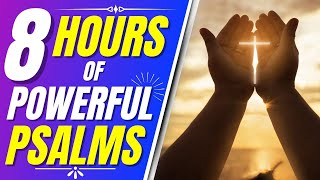 Psalms 91, 90, 92, 93, 94, 95 (8 hours of powerful psalms 1)(Bible verses for sleep)