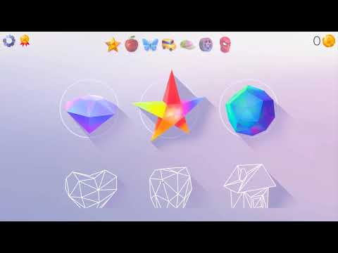LowPoly 3D Art Paint by Number Gameplay (PC Game)