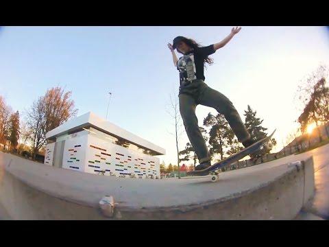 Breana Geering - Welcome To Hoopla Skateboards