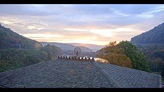 World Famous Horseshoe Curve, Altoona, Pennsylvania USA - Virtual Railfan LIVE