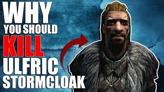 Why You Should Kill Ulfric Stormcloak? | Hardest Decisions in Skyrim | Elder Scrolls Lore