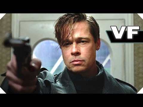 ALLIÉS (Thriller, Brad Pitt) - NOUVELLE Bande Annonce VF / FilmsActu