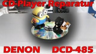 DENON DCD-485 CD-Player Fehlersuche + Reparatur
