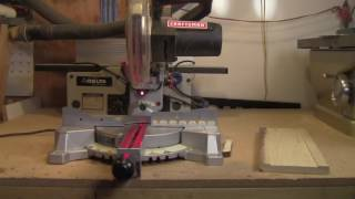 Craftsman 7 1/4 Sliding Compound Miter Saw