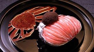 日本料理龍吟松葉蟹学会発表