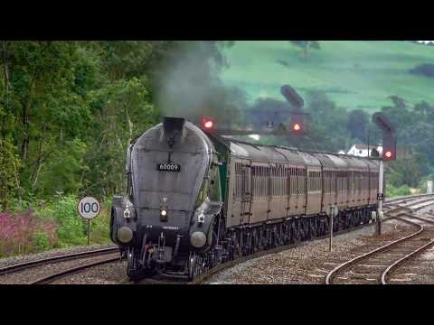 60009 'Union Of South Africa' at Castle Cary with 'The West …
