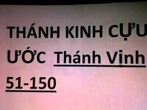 Cựu Ước sách Thánh Vịnh(51-150) October 29, 2012 12:59 AM