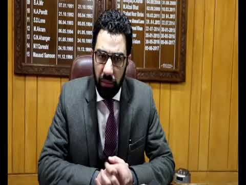 Dr. Syed Abid Rasheed Shah (IAS) joins as Deputy Commissioner