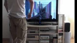 Смотреть онлайн Оголделый ребенок разбил новенький телевизор