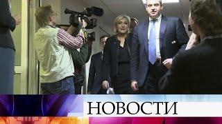 ВГосдуме проводит встречи сроссийскими коллегами Марин ЛеПен.