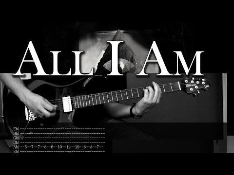 All I Am - Alice in Chains | Vocal & Guitar Cover +Solo+Tabs