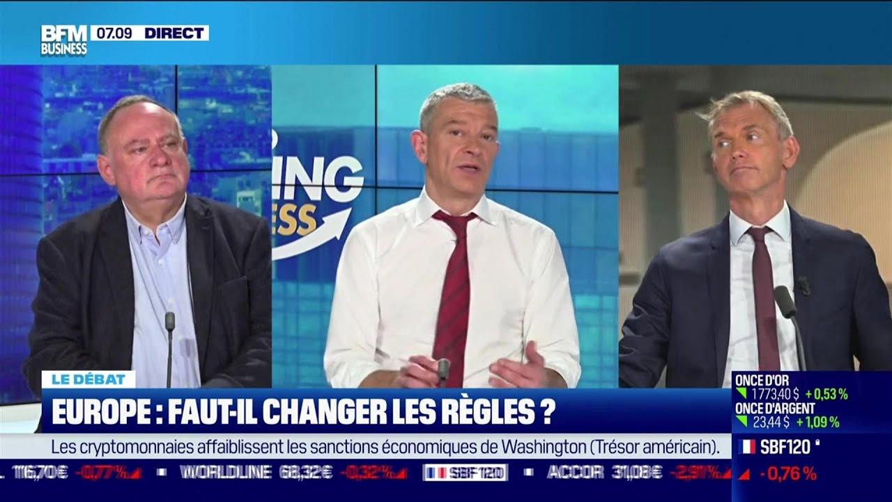 Le débat : Faut-il changer les règles en Europe ?, par Jean-Marc Daniel et Nicolas Doze