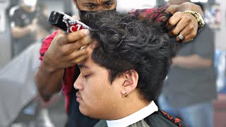 HAIRCUT TUTORIAL: LOW FADE CURLY TOP STEP BY STEP INSTRUCTIONS