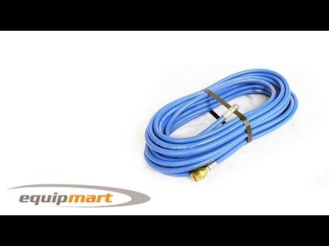 Blue Flexible Drain Hose Retrojet Nozzle M22 (15m / 20m / 30m)