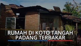 Rumah di Koto Tangah Padang Terbakar, Dua Sepeda Motor Ikut Hangus