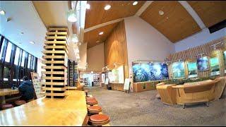 北海道観光冬の北海道上川郡、層雲峡ビジターセンターを適当に観覧JapanTravel・Hokkaido、Sounkyo