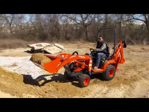 2019 Kubota Sub-Compact Tractor BX1880 in Sparks, Nevada - Video 2